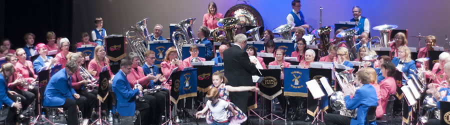 Bradwell Silver Band join Boobs and Brass for a joint charity concert